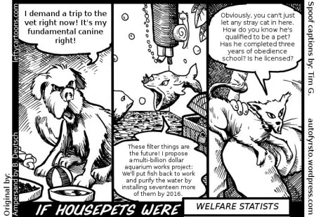 If housepets were welfare statists