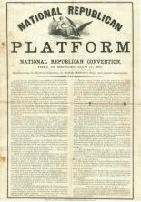 Platform: n. A list of what politicians are supposed to be trying to do.